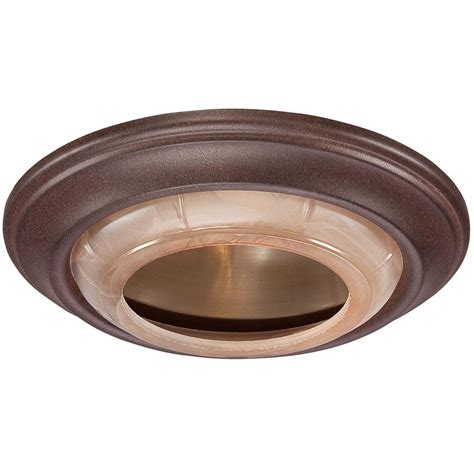 replace recessed lighting trim minka lavery 6 in noble bronze recessed can trim 2718 156