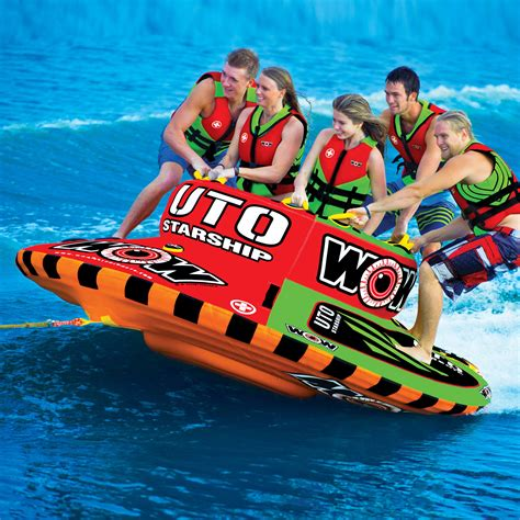 1 person boat tube ski towables tube inflatable water towable tubes for