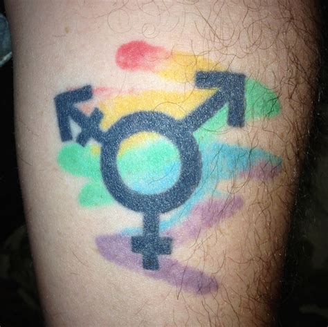 transgender tattoos transgender pride