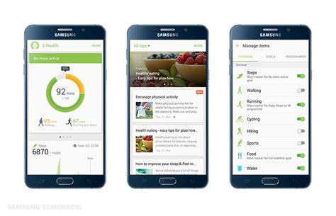 health app for android maj samsung s health est d 233 sormais utilisable sur tous les mobiles frandroid