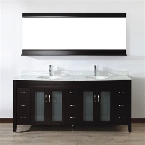 bathroom vanity cabinets canada spa bathe ev75c elva series bathroom vanity lowe s canada