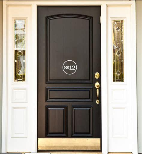 front door vinyl house number front door vinyl decal