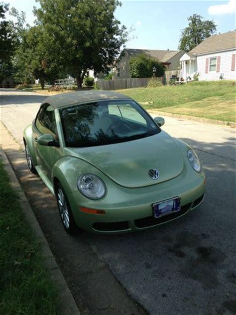 purchase  green  vw beetle convertible  door    miles  tulsa oklahoma