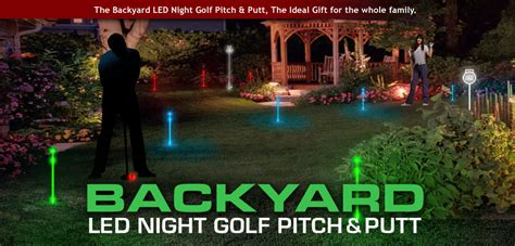 backyard golf set backyard golf set night sports usa