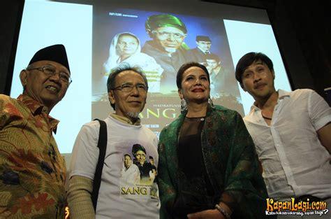 film perjuangan bangsa indonesia yenny wahid sayangkan ada parpol tunggangi film sang kiai