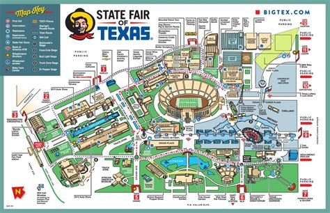 state fair of texas map state fair map ahct