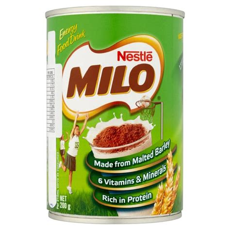 Milo 3 In 1 1 Kg nestle milo instant malted chocolate drink 200g from ocado
