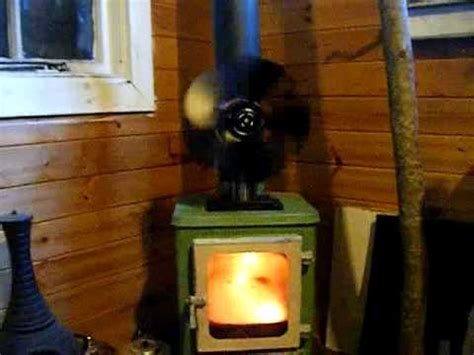 vulcan wood stove fan the hobbit stove and vulcan stove fan in operation youtube