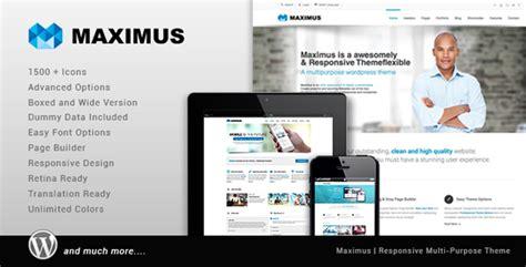 theme editor maximus maximus responsive multi purpose theme nulled download