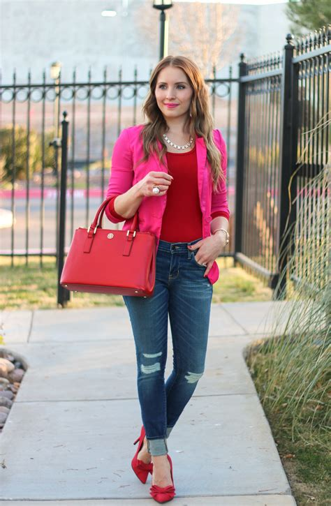 How To Start A Home Decor Line Pink And Red Casual Valentine Pink Blazer And Red