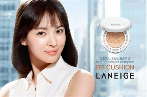 Laneige Bb Cushion Di Sogo velina pixie dust makeup laneige snow bb soothing cushion review