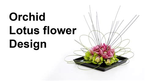 Coffee Table Flower Arrangements by Orchid Lotus Flower Arrangement Ideal For A Coffee