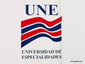 universidad de especialidades une cierran grupos