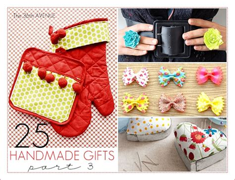 Handcrafted Presents - 25 handmade gifts 5 the 36th avenue