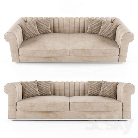 Nubuck Leather Sofa 3d Models Sofa Large Modern Padded Nubuck Leather Italian Sofa