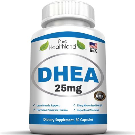 Suplemen Dhea dhea supplement capsules 25mg for balance hormone anti aging extension ebay