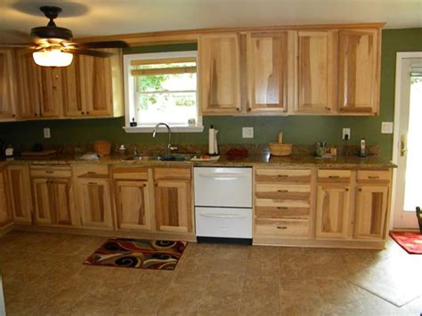 kitchens with hickory cabinets hickory kitchen cabinets to match your rustic kitchen theme