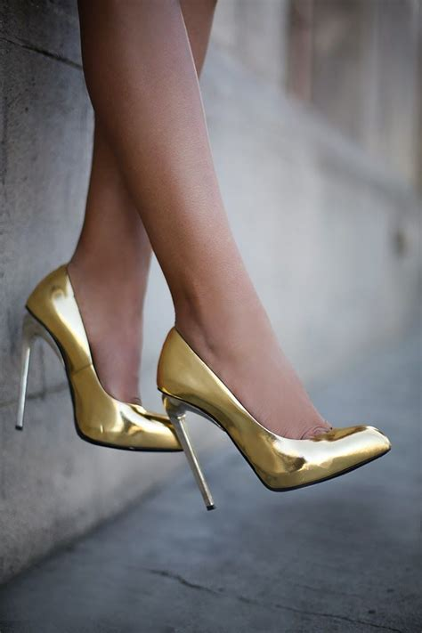 1000 ideas about gold heels on gold
