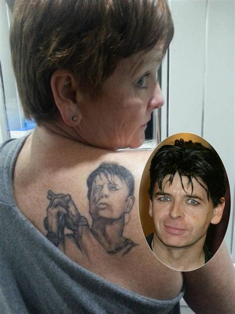 gary tattoo gary numan this singer gary numan so