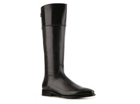 santoni s leather boot dsw