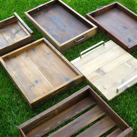 wood tray diy 25 best ideas about wooden trays on pinterest round
