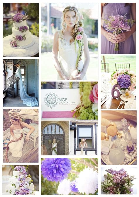 lilac and yellow wedding theme a rapunzel wedding theme lilac yellow and created