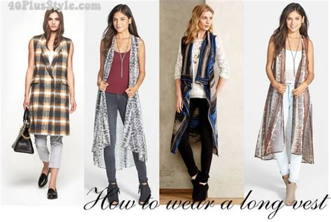 What To Wear At Office Christmas Party - how to wear a long vest ideas inspiration and buying guide