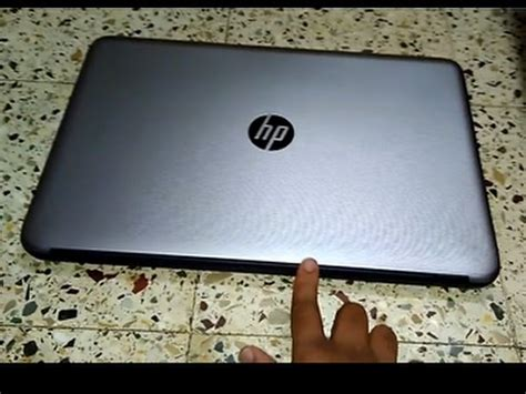 Notebook Hp15 Bw070ax Silver unboxing hp laptop turbo silver hp 15 ay503tx 15 6 inch laptop
