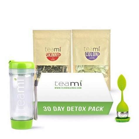 The 30 Day Detox Summary by Teami Colon Cleanse Tea Detox Teami Blends