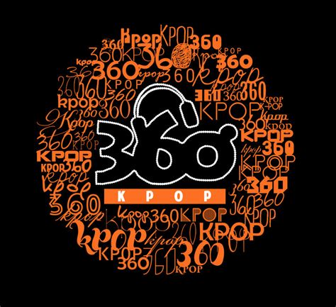 Kpop Design Contest | 360kpop shirt design contest black bg by uyenvicci voo
