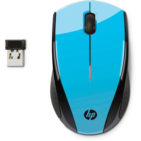 Mouse Wireless Hp X3000 Hp X3000 Wireless Mouse Blue K5d27aa Abl B H Photo