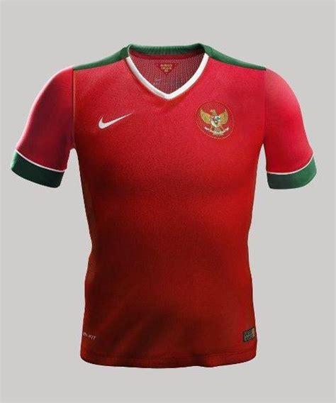 Tshirt Psja Jakarta Football Club new indonesia kits 2014 15 nike garuda jerseys 14 15 home away football kit news new soccer