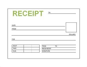 Free Payment Receipt Template Free Receipt Templates In Word Payment Receipt Sample