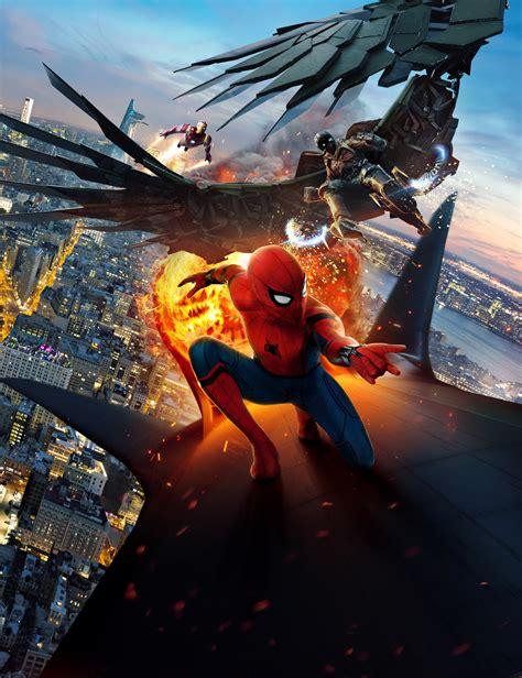 Wallpaper Spider Man: Homecoming, Vulture, Iron Man, HD