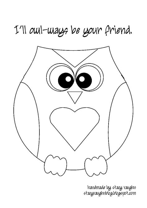 printable owl cut outs free printable owl template coloring home