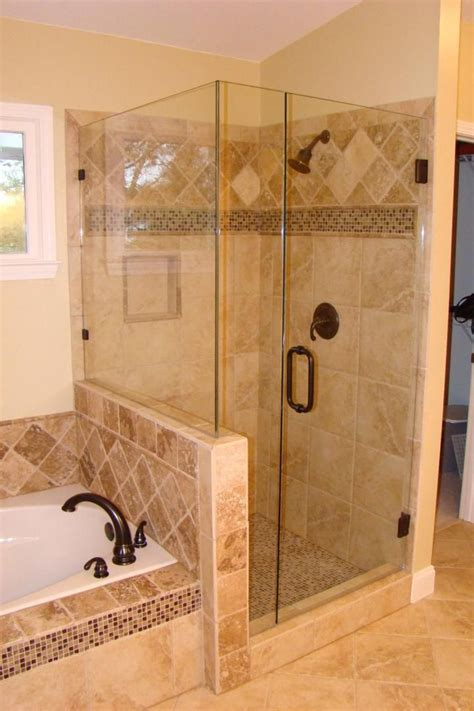 bathroom tile shower designs 10 images about bath tub shower wet room on pinterest