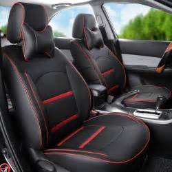 Seat Covers On Leather Seats Popular Custom Leather Car Seat Covers Buy Cheap Custom