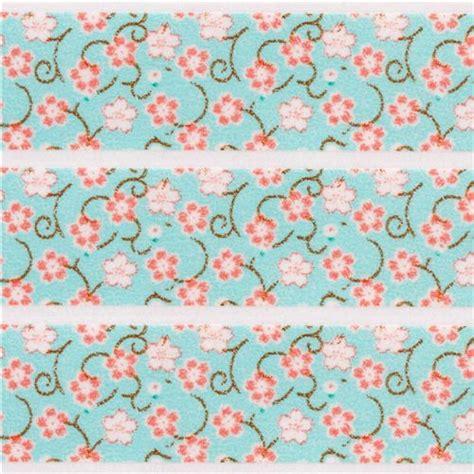 Mini Masking Flower blue mini flower washi masking deco washi masking deco stationery shop