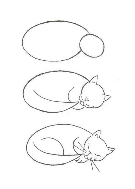 imagenes faciles para dibujar de gatos dibujos de gatos lindos dibujos de gatos para colorear