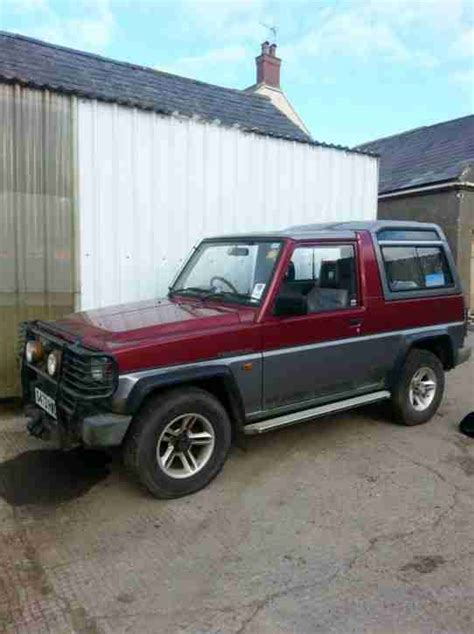 daihatsu turbo for sale daihatsu fourtrak turbo diesel el for spares car for sale