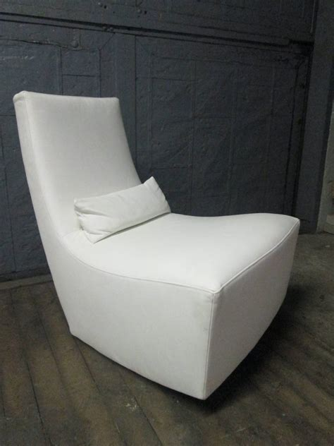 ligne roset ottoman leather lounge chair and ottoman by ligne roset for sale