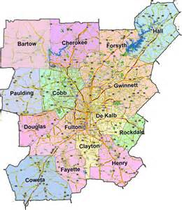 atlanta metro map map travel vacations