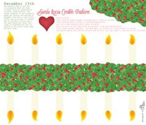 printable st lucia crown 1000 images about santa lucia day on pinterest santa