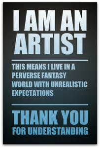 Meme Artist - expectations studio mothers life art