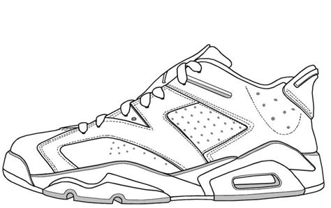 coloring pages air jordans air jordan vi low kicks pinterest jordan vi air