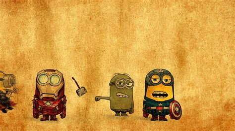 wallpaper cartoon hero minions superheroes wallpapers and images wallpapers