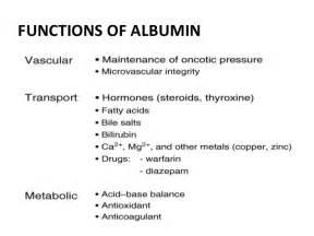 Blind Unit Indicatins Of Salt Free Albumin