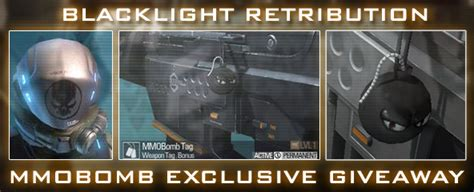 Mmobomb Giveaway - blacklight retribution exclusive mmobomb item giveaway mmobomb com