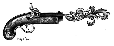 tattoo gun without ink old gun i have this tattooed on my right arm drawing