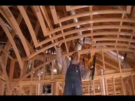 How To Frame Ceiling by How To Frame A Groin Vault Ceiling